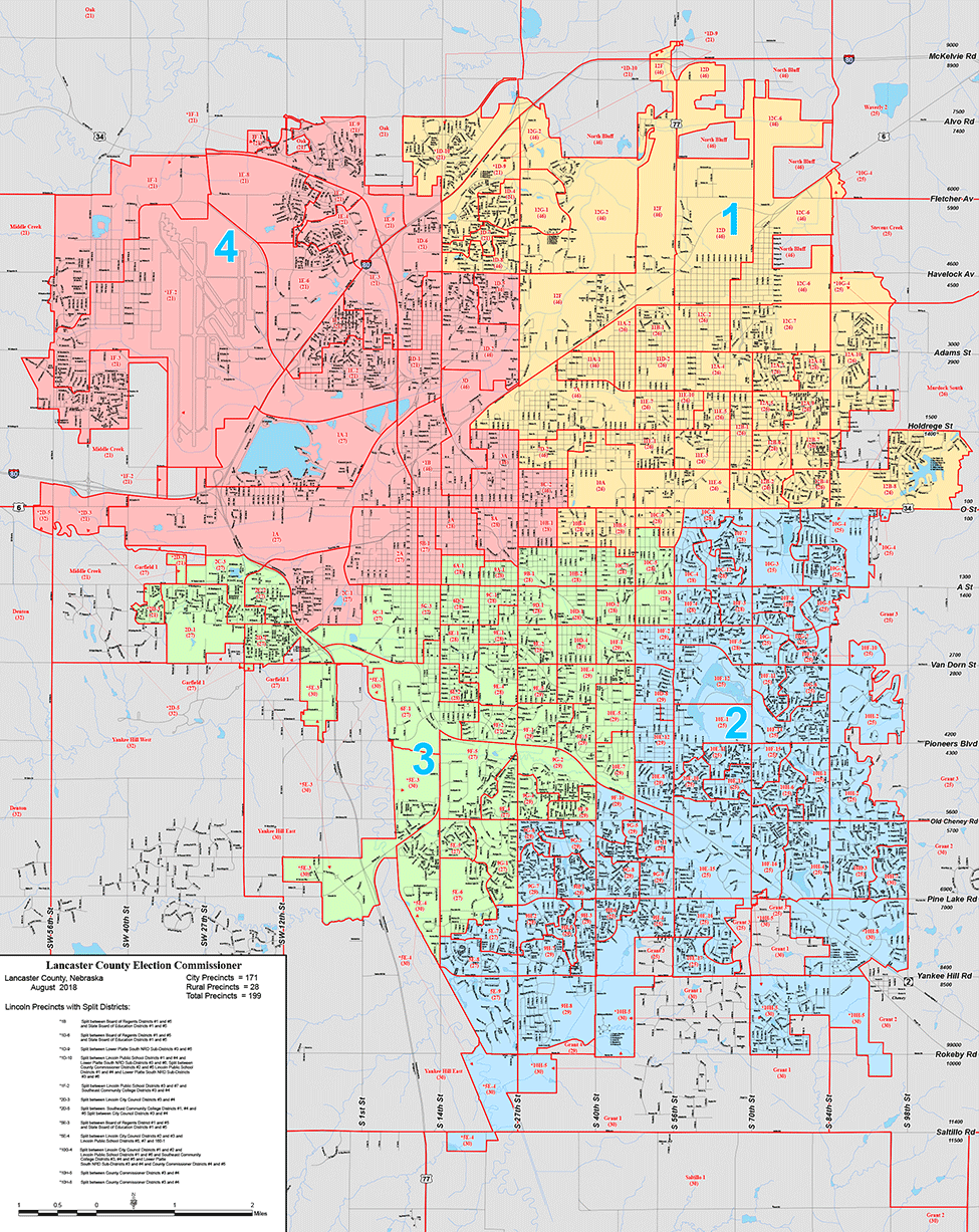 City Council Districts with Voting Precincts